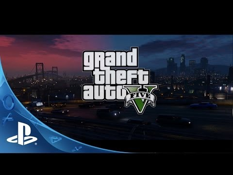 Grand Theft Auto V – Coming for PlayStation 4 this Fall | E3 2014