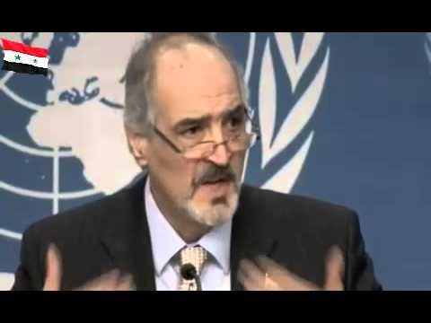 Press Conference at Geneva -  H E . Bashar Ja'afari 22\01\2014