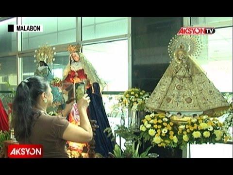 40 life size image ni Mama Mary, tampok sa Malabon City Hall