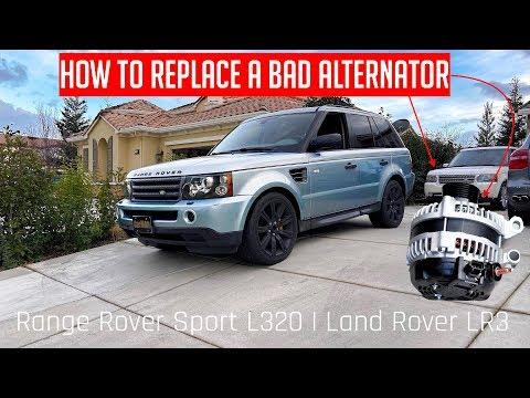How to Change Alternator on your Range Rover Sport 2005-2013 L320