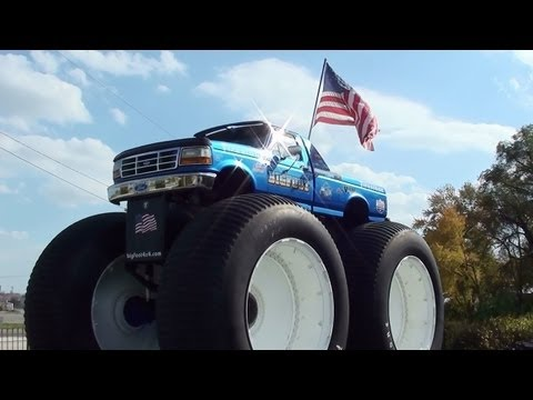 Bigfoot 5, World's Tallest Pickup Truck - Home of Bigfoot Monster Trucks - Hazelwood, Missouri