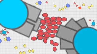 Diep.io - Full Upgrades Tanks Destroyer & Sniper | Diepio Gameplay Introduction