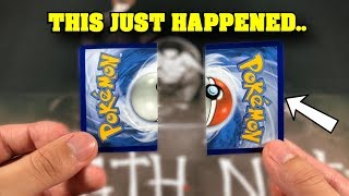 *This video WILL MAKE YOU CRY!* Pokemon Card Save it or Rip it.. GONE EXTREMELY WRONG!