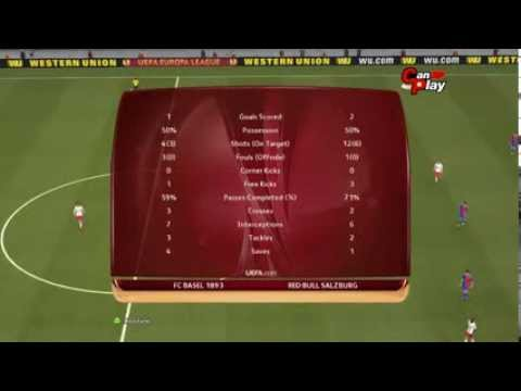 Basel - Red Bull Salzburg  13.03.2014 [Pes 2014 Match Predictions] Full Time 1-2