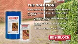 Enhance & Protect your Paving with Block Paving Sealers using RESIBLOCK Superio(AB Jetting is the leading company for driveway cleaning & pavement advertising in the UK. Using the most advanced hi pressure cleaning equipment available, ..., 2014-09-04T01:34:56.000Z)