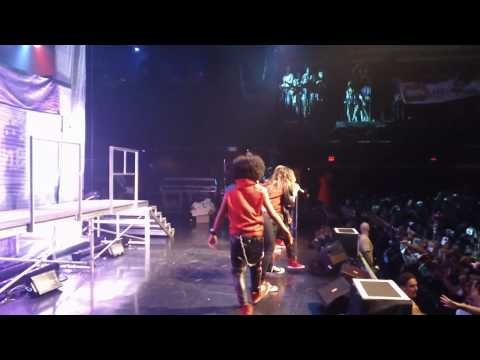 Ciara and Mindless Behavior in Boston