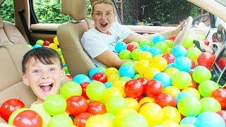 ALİ ANNESİNE TOP ŞAKASI YAPTI! BALL PIT PRANK IN MY MOM'S CAR!!