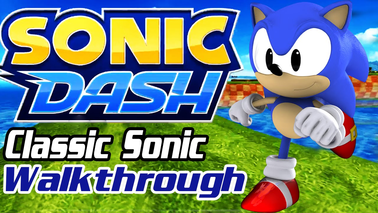 Classic Sonic In Sonic Dash Android Walkthrough Gameplay Part 1 Green Hill Zone Lost World Boss Youtube