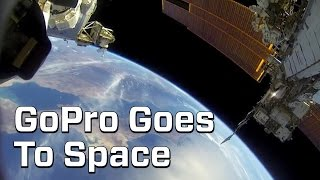 Astronaut Captures Spacewalk On GoPro