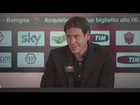 Rudi Garcia on Roma being at the top