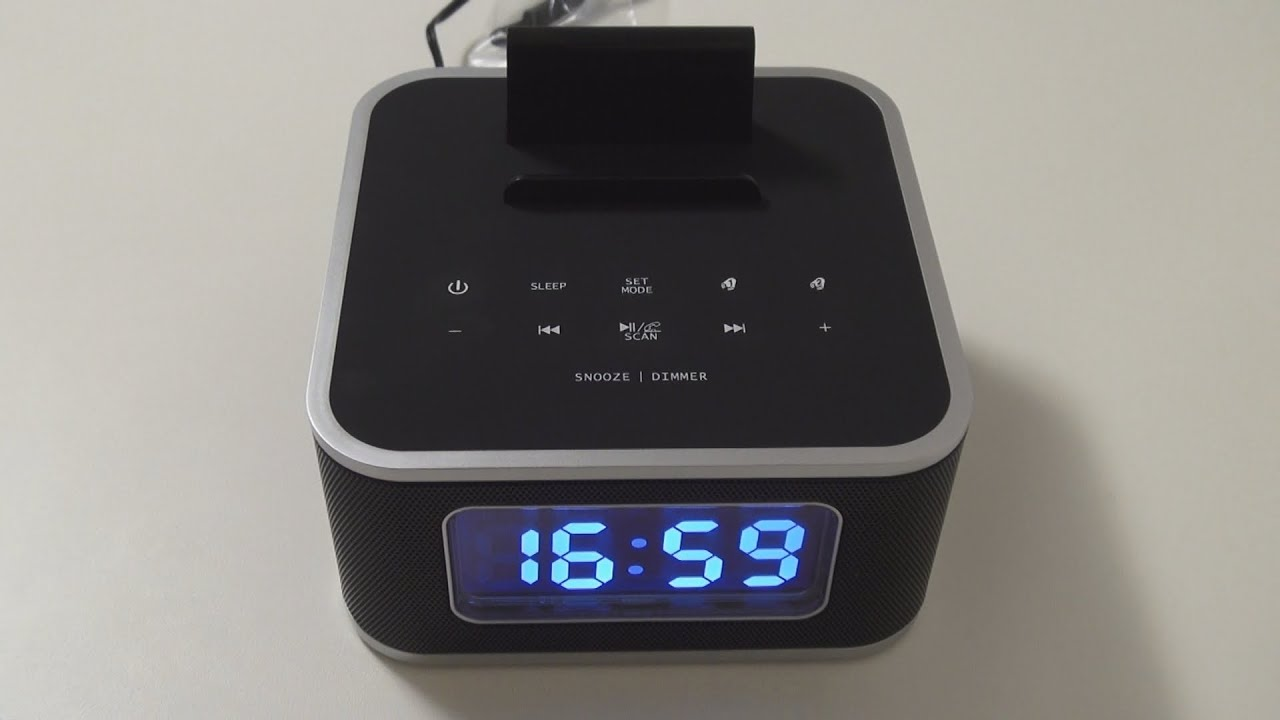 easyacc s1 bluetooth alarm clock radio speaker review. Black Bedroom Furniture Sets. Home Design Ideas