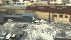 Amateur Video of the Japanese Tsunami