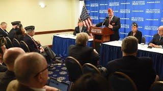 Legion National Commander speaks at National Press Club