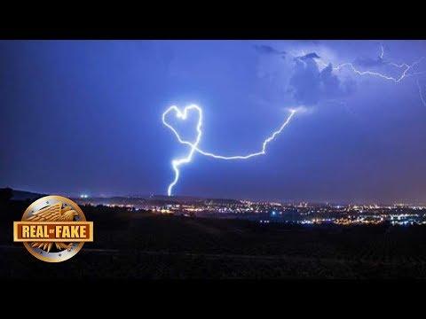 HEART SHAPED LIGHTNING BOLT - real or fake?