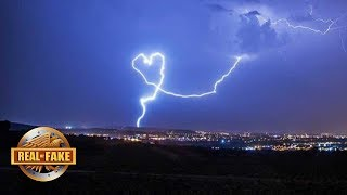 HEART SHAPED LIGHTNING BOLT - real or fake?