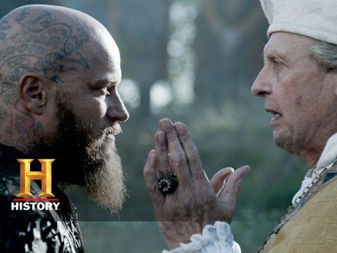 Vikings: Ragnar is Baptized (Season 3, Episode 9)   History