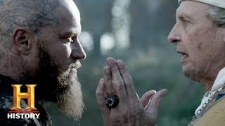 Vikings: Ragnar is Baptized (S3, E9)