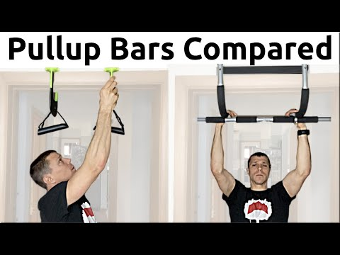Home Pull-up Bar Comparison 6 Types Compared!