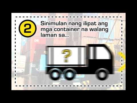 Manila Port Congestion Motion Graphics