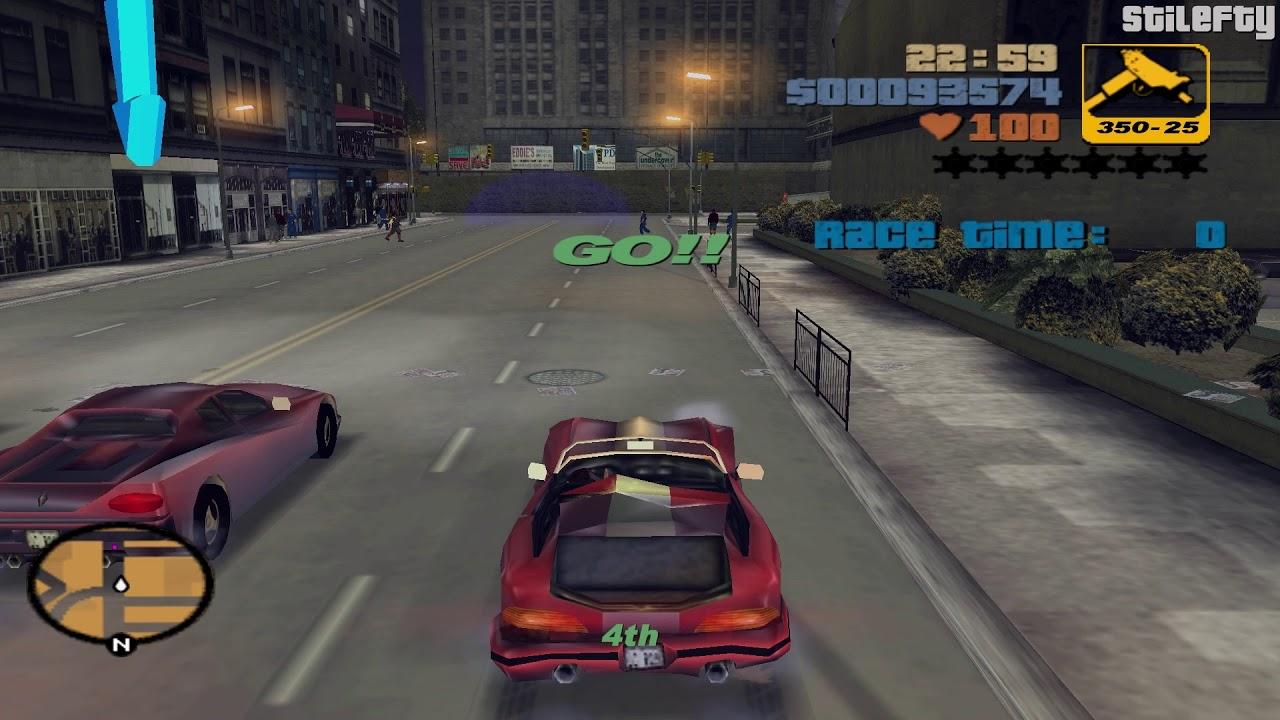 GTA 3 - Mission #17 - Turismo - YouTube