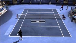Top Spin 3 - Roger Federer vs. David Nalbandian