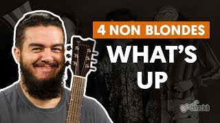 What's Up - 4 Non Blondes (aula de violão)