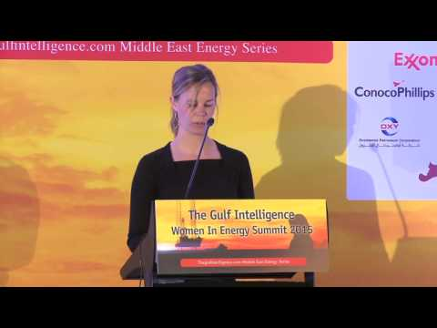 Research Director, ExxonMobil Research Qatar Delivers Remarks at the Women in Energy Summit
