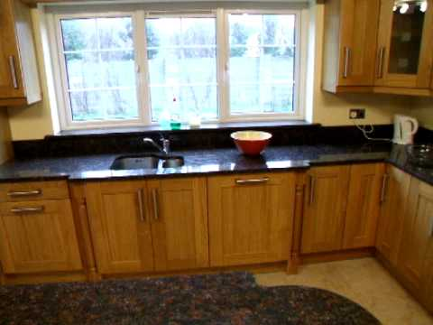 Conor Whelan Fitted Furniture Oak Kitchen
