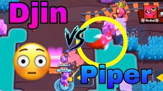 DJIN VS PIPER ! Qui va gagner ? BEST OF 7 ! Brawl stars