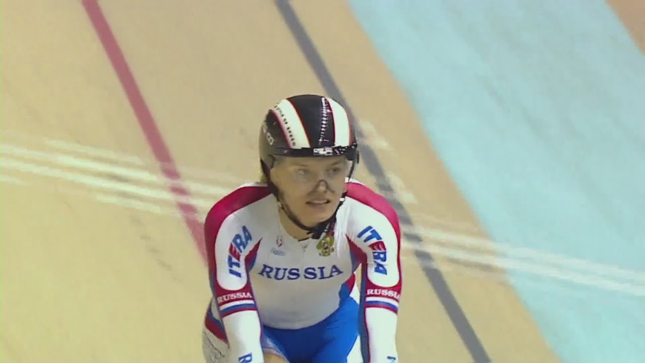 e411a688c Women s Team Sprint Race - 2014 Track Cycling World Cup ...