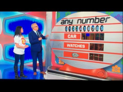 The Price is Right - Any Number - 5/22/2017