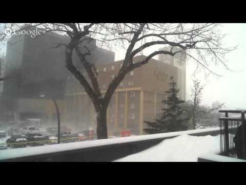 LIVE - Skycam from downtown Regina, Saskatchewan #SKSTORM