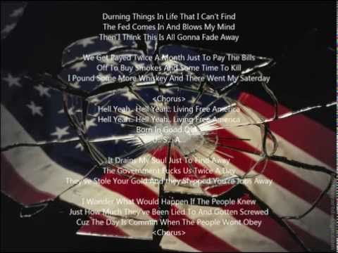 Living free America song