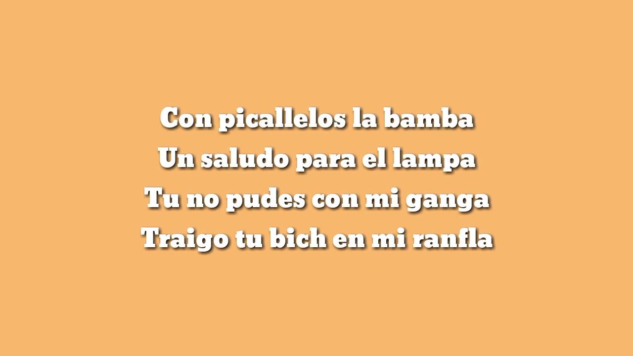 Millonario ft  Alemán   Tio Rico Letra
