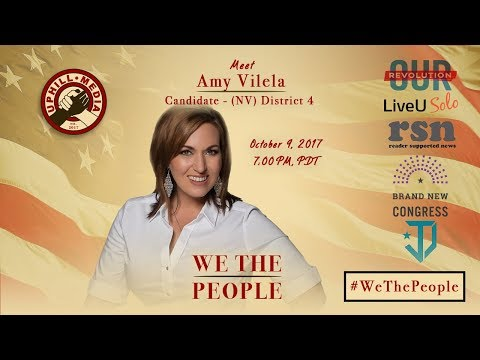 #WeThePeople meet Amy Vilela Candidate 4th District, Nevada (D)