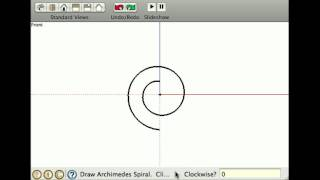 Draw spirals and Cornu splines interactively in SketchUp