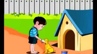 YouTube - Kannada rhymes - nAyi mari.flv