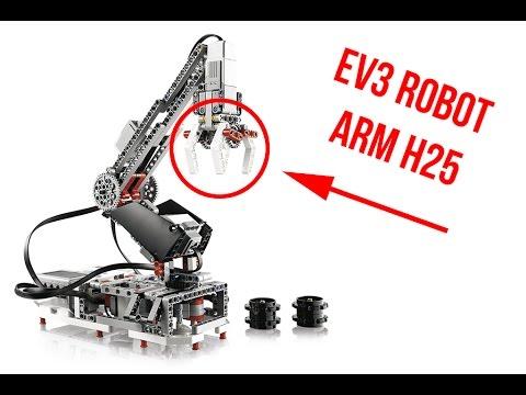 Lego Minstorm EV3 Robot Arm H25 modified with slide - YouTube