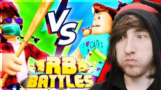 KREEKCRAFT VS DENIS! [Reaction] Roblox RB Battles Championship