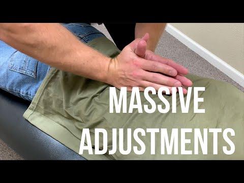MASSIVE Spinal Adjustments