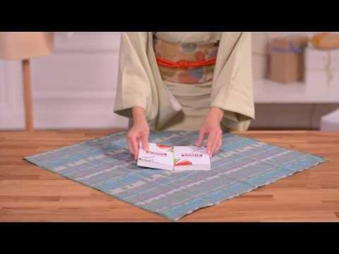 Comment faire un Double livre furoshiki ?