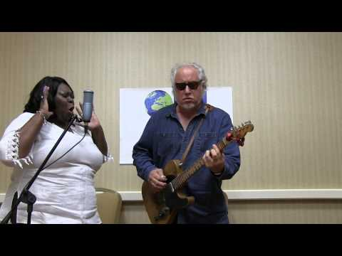 """A Change Is Gonna Come"" Diunna Greenleaf and Bob Margolin at the 2015 Blues Music Awards, on BRI TV"