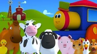 Паровозик Боб едет на ферму | Bob, Farm Song(Всем привет! Какой прекрасный день! Давайте сегодня поедем на ферму! Паровозик Боб поехал на ферму И-я и-я..., 2015-02-13T12:07:44.000Z)