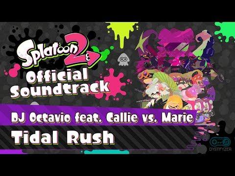 Tidal Rush (DJ Octavio feat Callie vs. Marie) - Splatoon 2 Soundtrack
