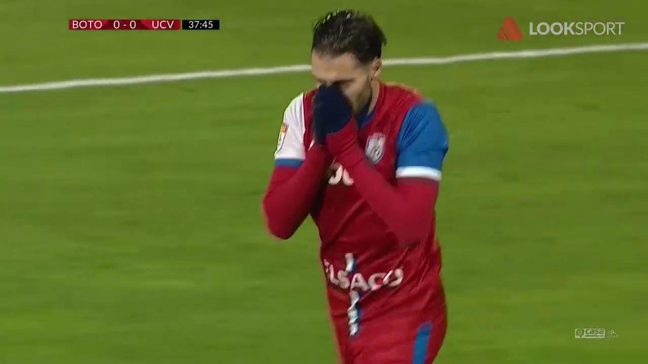 REZUMAT: FC Botoşani - Universitatea Craiova 0-0. Liderul, în criză