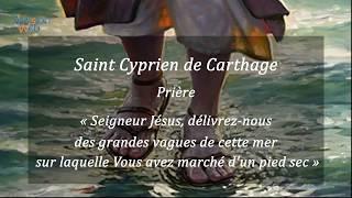 Prière de St Cyprien «Seigneur Jésus, délivrez-nous des grandes vagues de  cette mer...