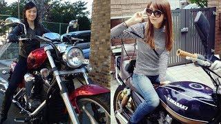 愛車が凄い!バイクに乗っている女性芸能人