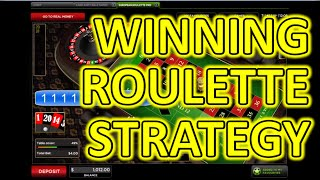 Winning Roulette Strategy - Play online roulette and win almost every time