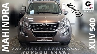 2018 Mahindra XUV 500 W11(O) | lake side brown |  detailed review | features | specs | price !!!!
