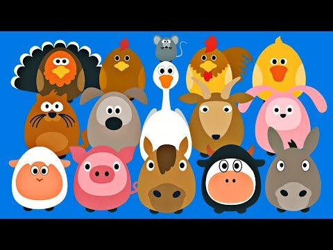 Learning Farm Animals For Kids Fun Teaching Animals
